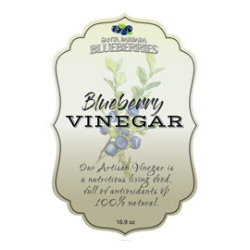 Blueberry Vinegar- 3 Pak