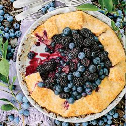 Double Berry Almond Galette